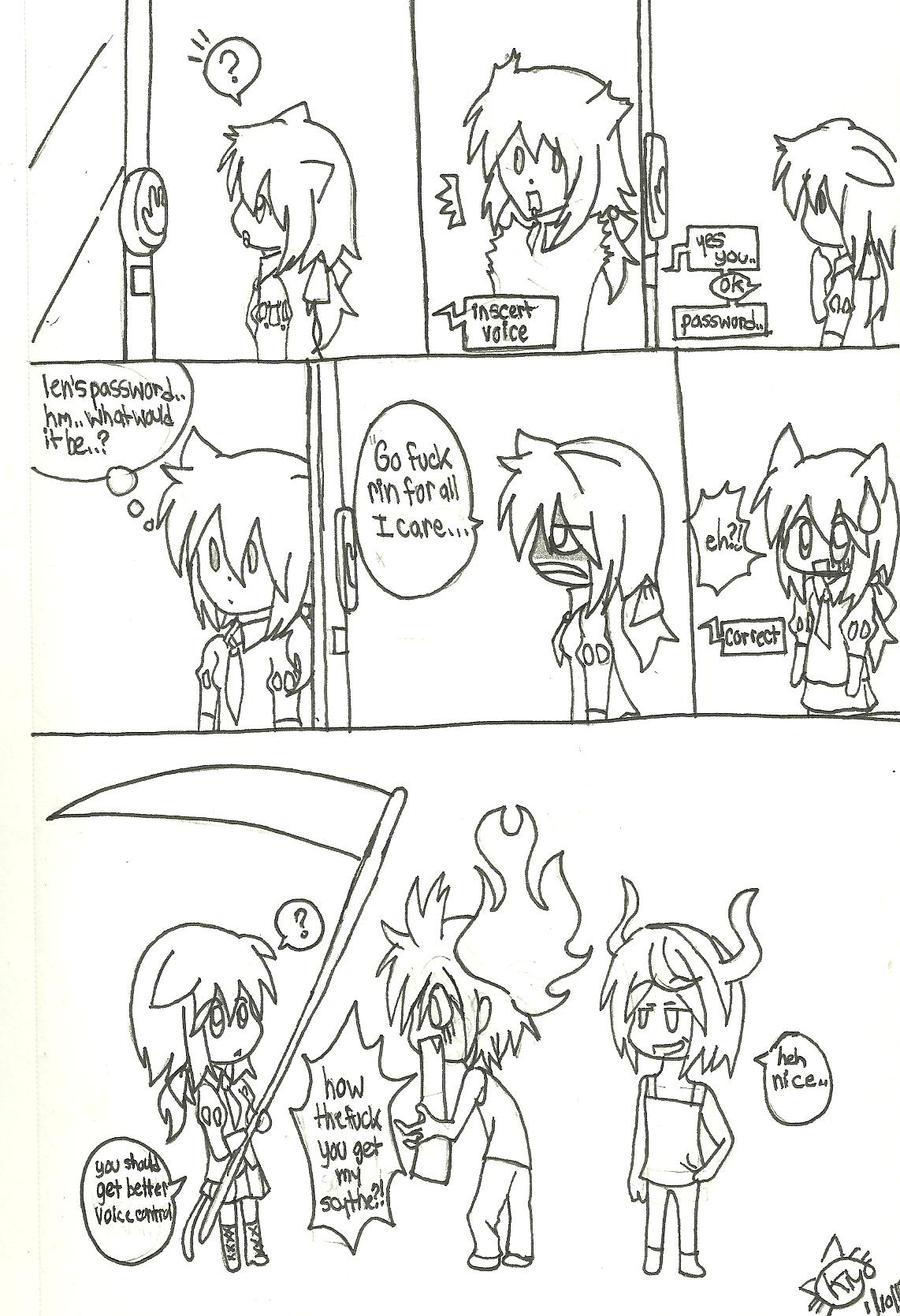 Mistuki found Len's Scythe by KiyaSparleVampire