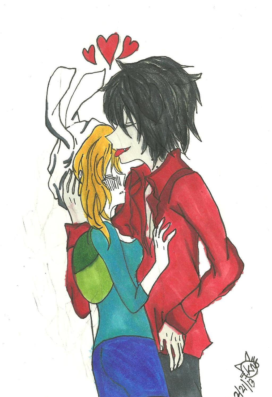Fiona and Marashal lee by KiyaSparleVampire