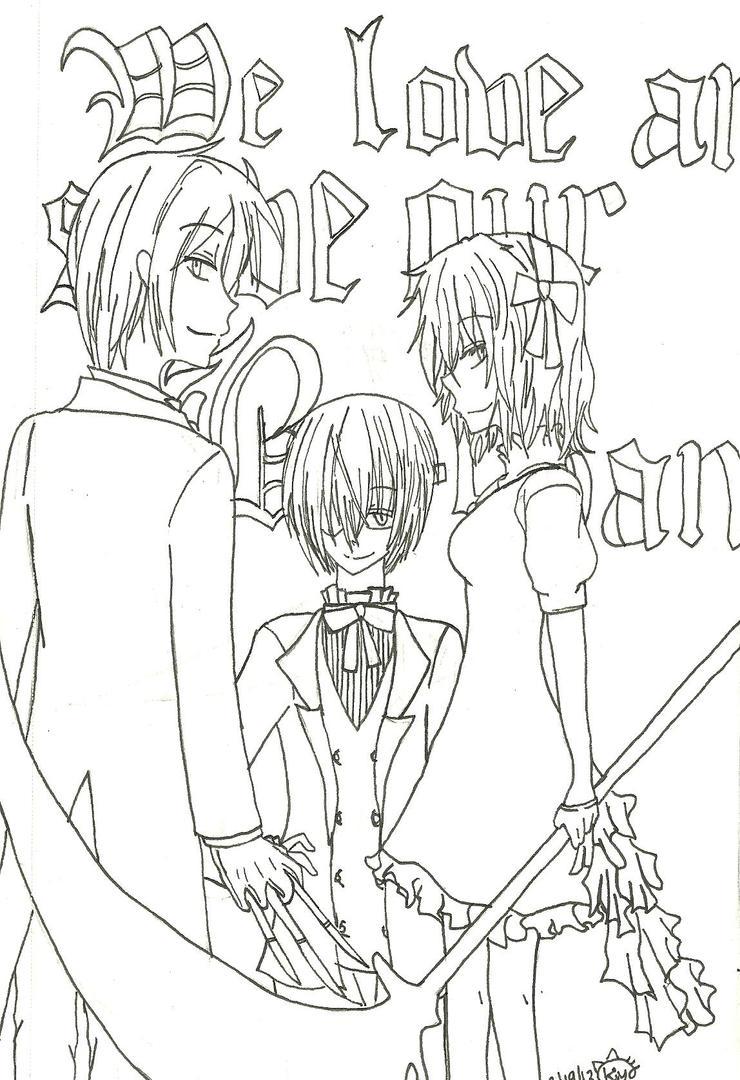 Demon family by KiyaSparleVampire