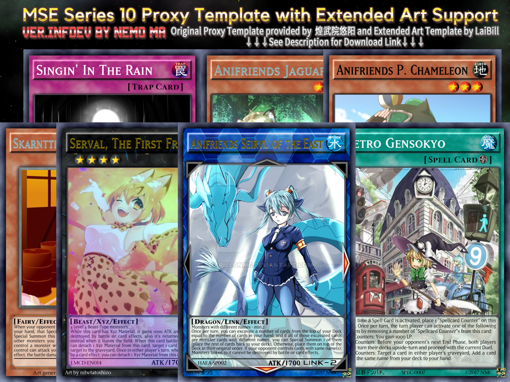 [MSE]TCG Series10 proxy-like Extended Art [INFDEV] by amarillonmc