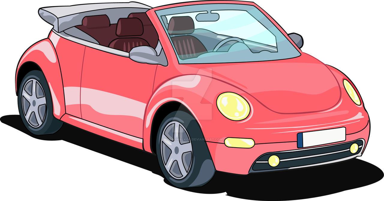 New Car Cartoon