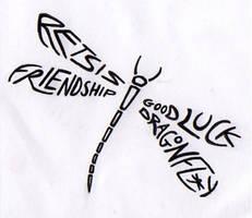 Retsis the dragonfly tattoo by happyhippybassist
