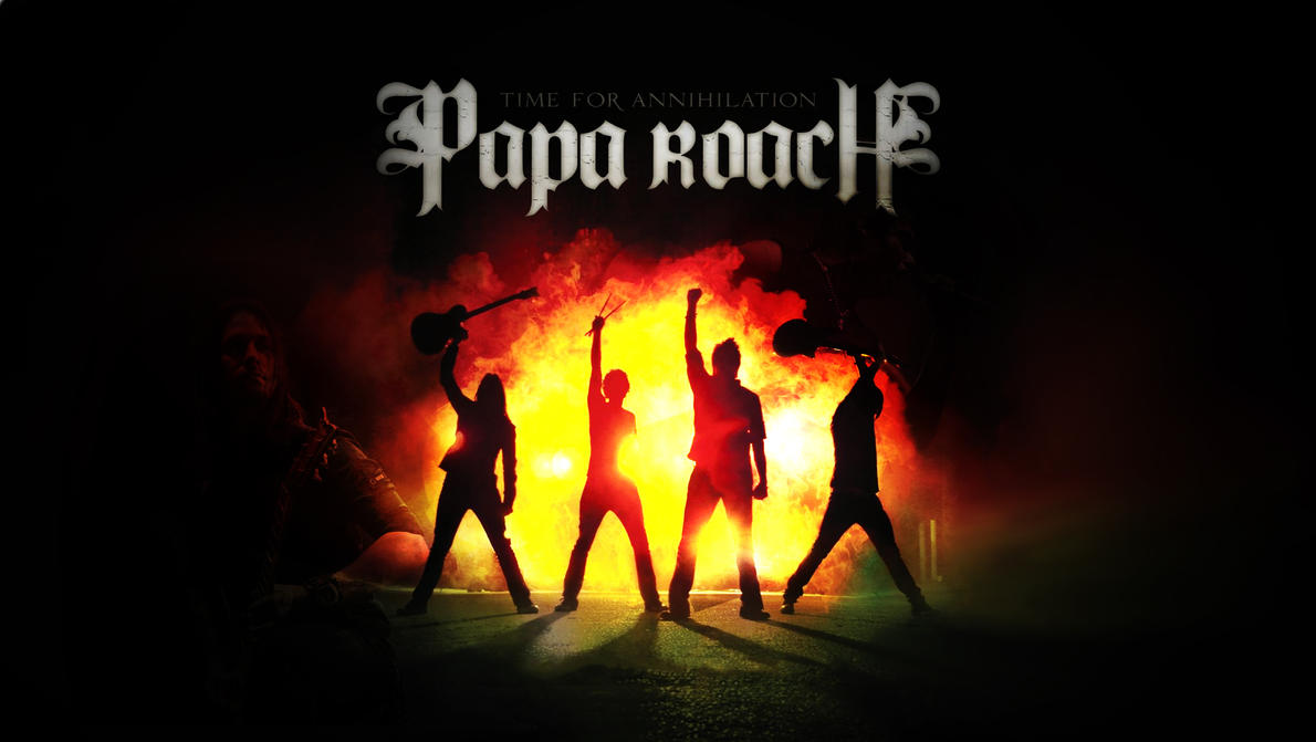 Love You Papa Hd Wallpaper : Papa Roach HD Wallpaper by mekk33 on DeviantArt