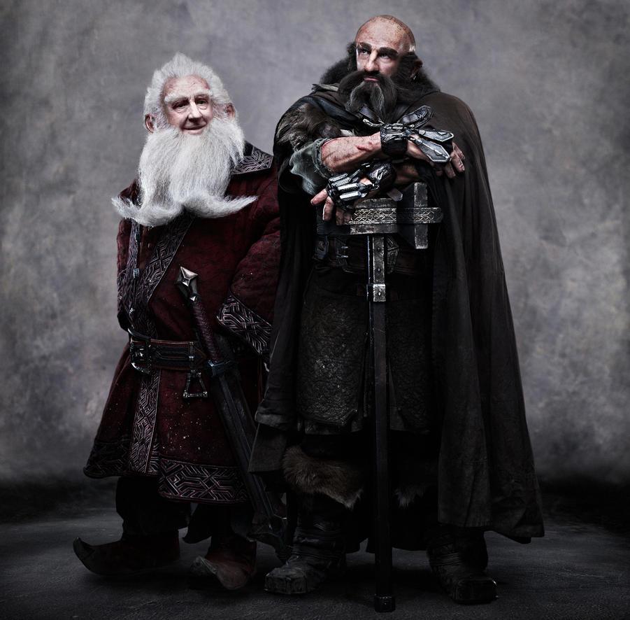 J R R Tolkien as Balin by mekk33