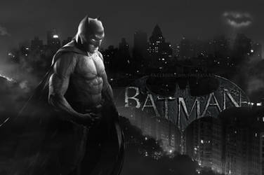 Batman [ BVS Affleck ] Wallpaper Hi-Res by mekk33