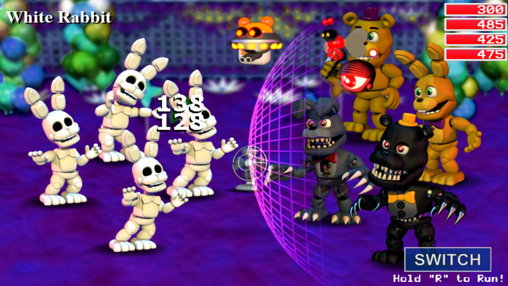 fnaf world how to get to world 5