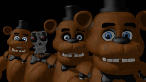 MMD- The many faces of Freddy