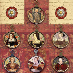 The Six Wives of Henry VIII by tartx