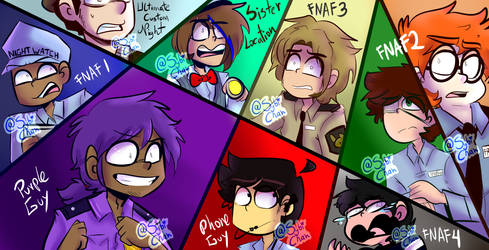 FNAF For EVER by SybiChan