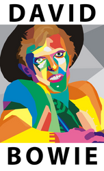 WPAP David Bowie by AndreMartinez