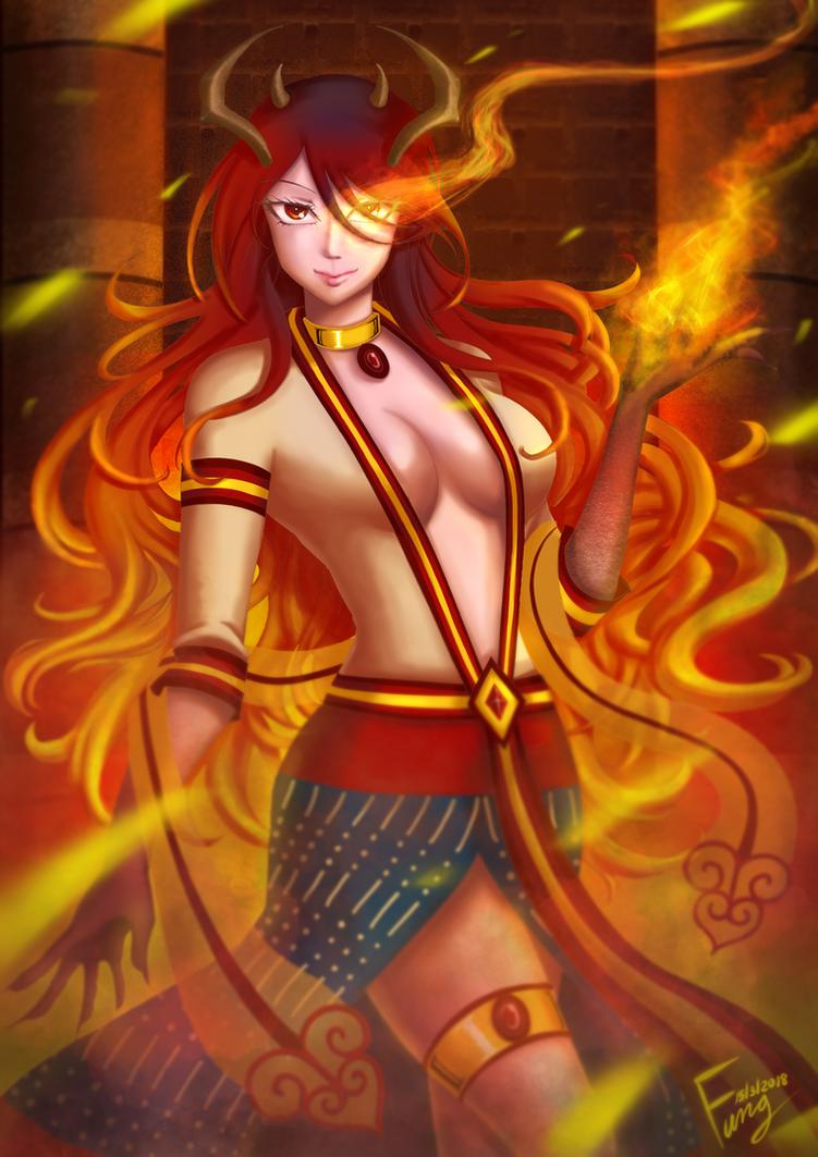 Zeren The Ifrit - Guardian Of Fire