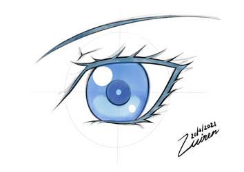 Draw an eye with Reiq Practice 2021