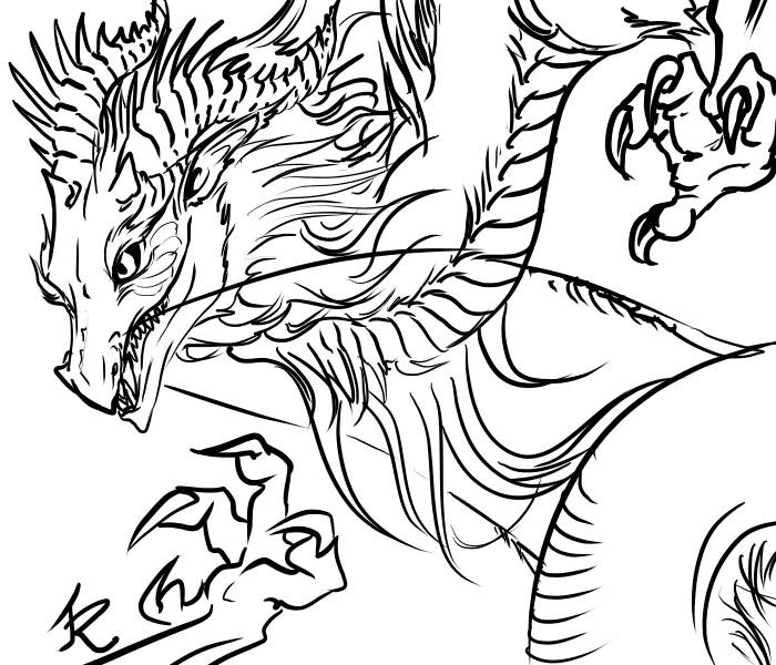 asian dragon by FeatheryDragon