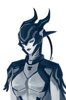Predacon lady by FeatheryDragon