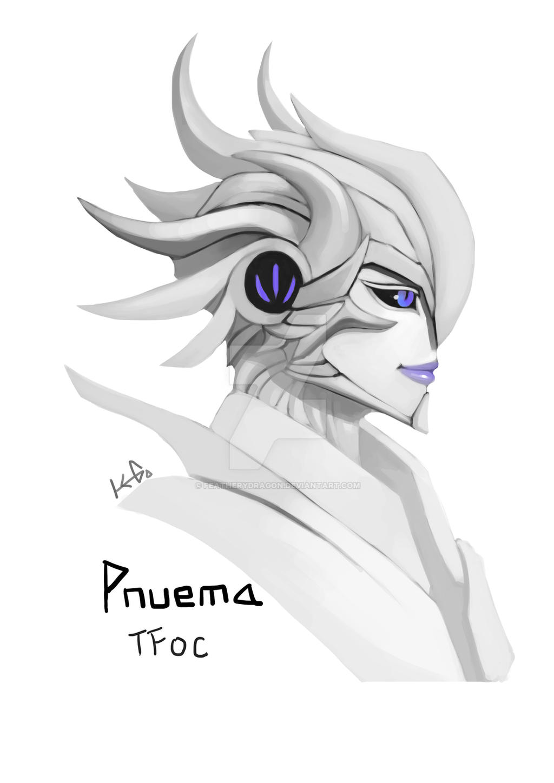 New TFoc: Pnuema (Headshot) by FeatheryDragon