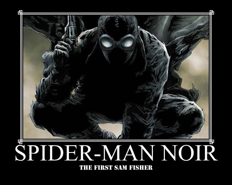 spider man noir by ichogo on deviantart. Black Bedroom Furniture Sets. Home Design Ideas