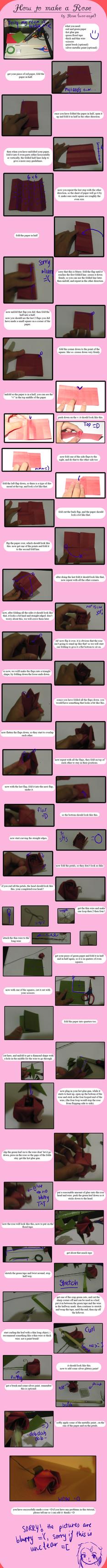 :rose tutorial: by WoO-angel