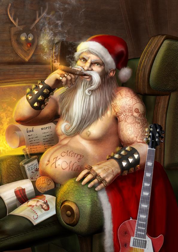 Santa by Krakenkatz