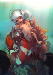 Anemones by Krakenkatz