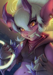 Tristana Demon Skin by Krakenkatz