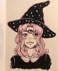 Witch With the Third Eye by GenkiIchigo
