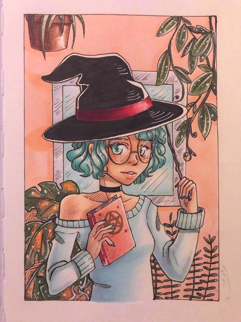 Plant Witch by GenkiIchigo