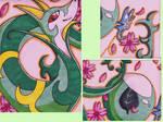 +Serperior Playmat details+