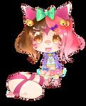 Momo chibi by XMireille-chanX