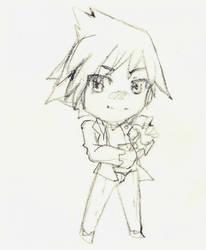 :R: Steven sketch chibi by XMireille-chanX