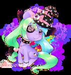 Chibi Lavender by XMireille-chanX