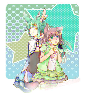 Jayden and Aki
