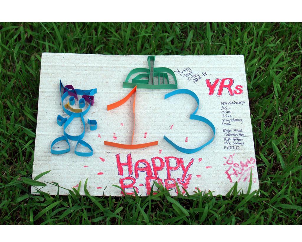 Happy Birthday DeviantArt! by FTSArts