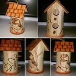 Chickadee Birdhouse (For Sale)