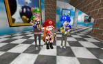 SMG4 Gals Trio