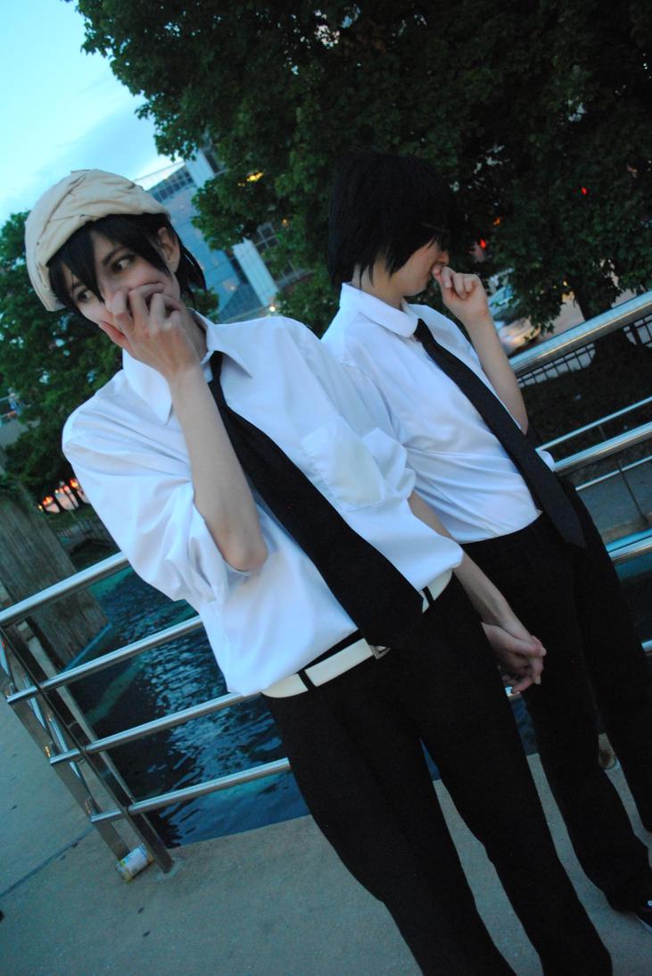 Tsuritama: awkward boyfriends. by cosmicprettyboy