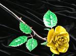 Lemon Yellow Rose