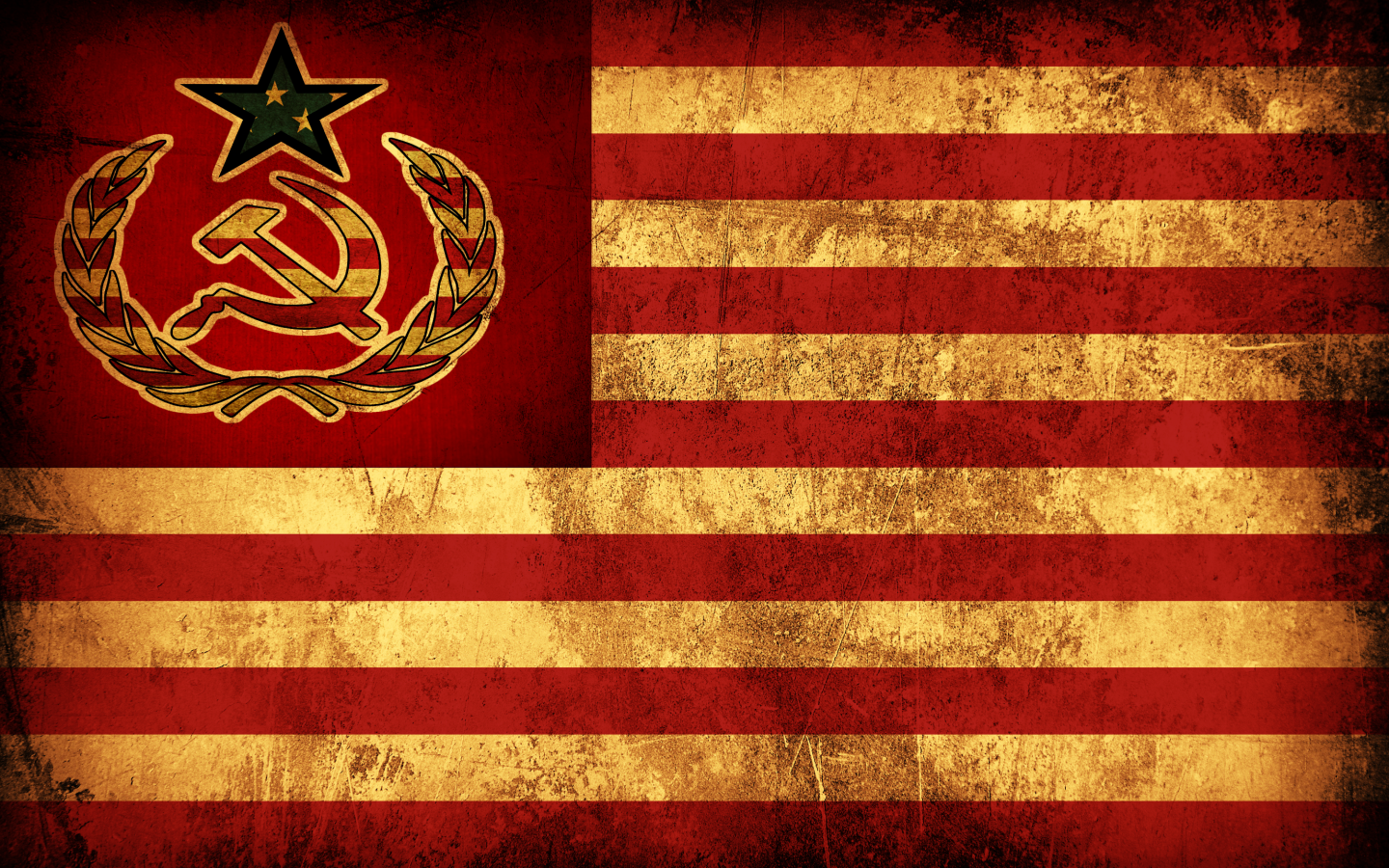 By EarlyRise American Flag Russian Wallpaper