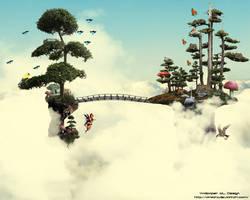 Tree World by amiLOnZ