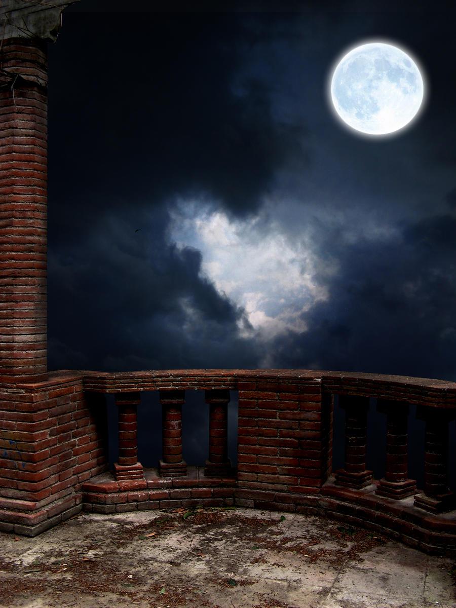 The balcony premade by amilonz on deviantart for Balcony wallpaper