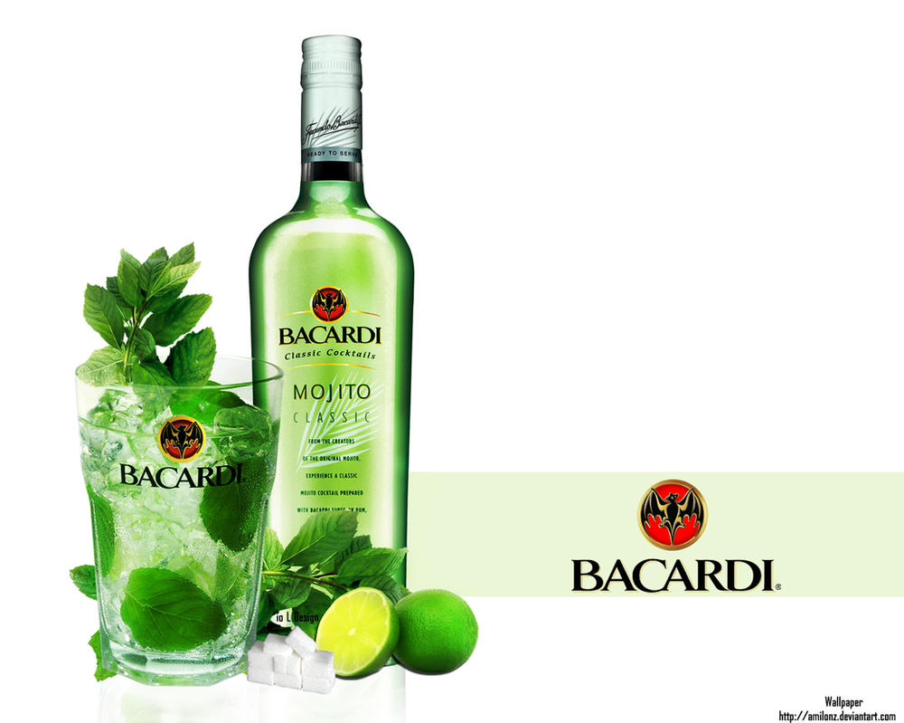 Bacardi Mojito Wallpaper by amiLOnZ