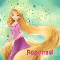 Rapunzel by allwellll