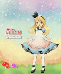Alice in wonderland by allwellll