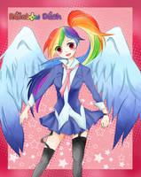 Rainbow dash! by allwellll