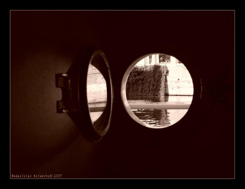 Through The Porthole by Wodanislav