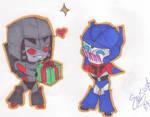 TFA Megatron and Optimus
