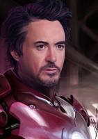 Iron Man by Meepel
