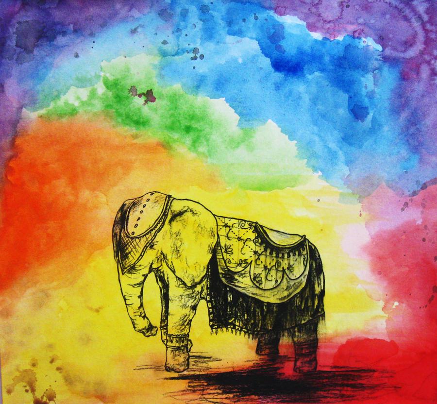 Elephant Colors By Nanushii