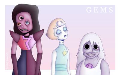 Gems by LovelyLaurenArts
