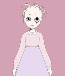 Barbie Doll (unfinished art) by LovelyLaurenArts