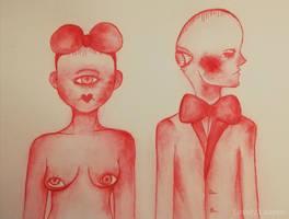 A sexes flesh by LovelyLaurenArts